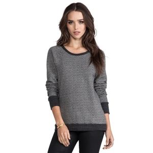 Joie Soft Annora Two Tone Terry Sweatshirt Size M